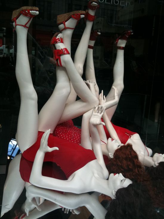 Even mannequins need exercise