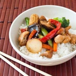 Chicken Teriyaki Rice Bowls