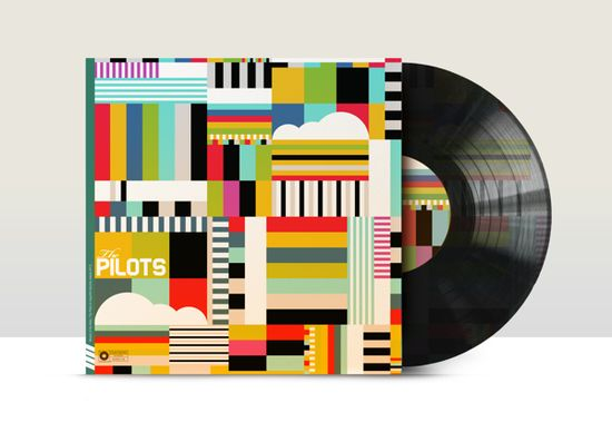 Vinyl Revival by Neil Stevens, via Behance