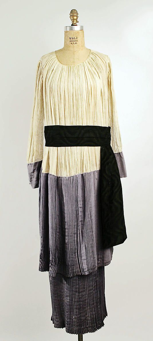 Dress, Afternoon  Callot Soeurs  (French, active 1895–1937)