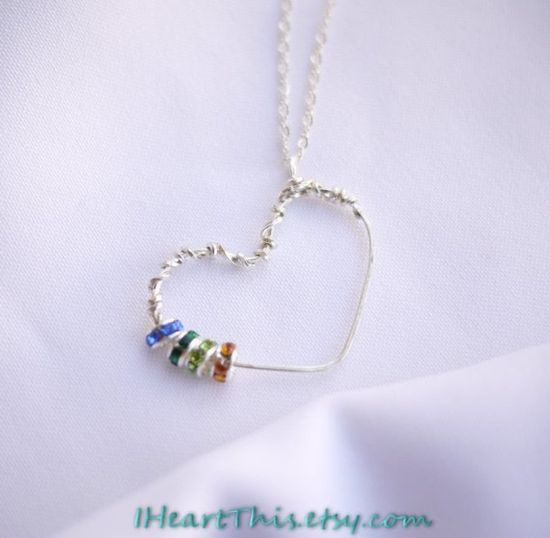 #heart #beads #pendant #jewelry