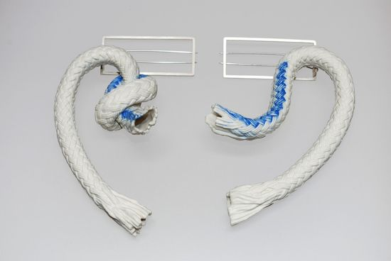 Pilar Cotter brooches (ceramic)