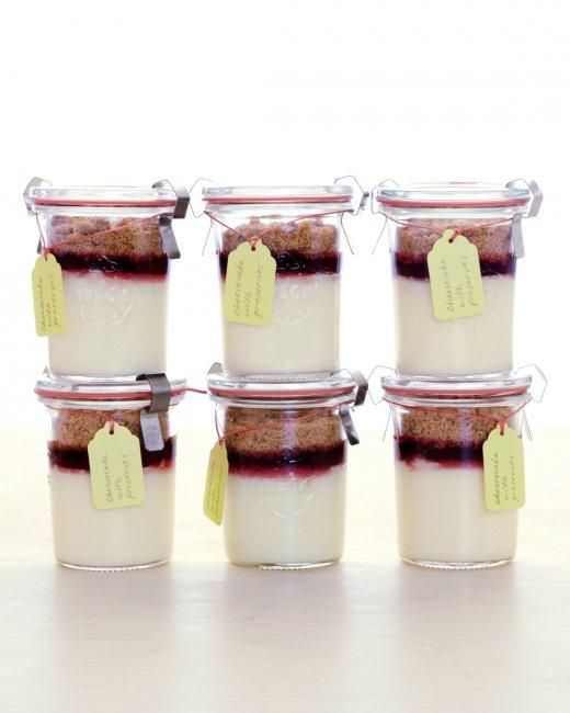 Mini Cheesecake Jars Recipe