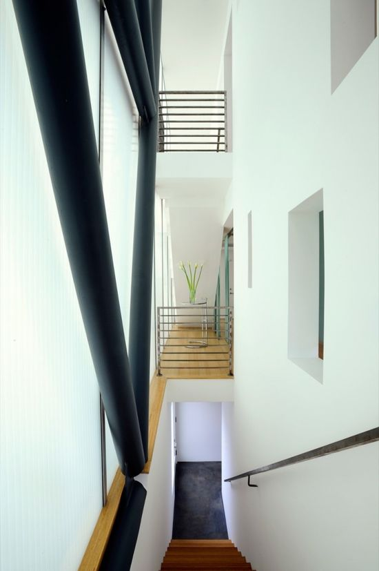Glass Townhomes / Sander Architects