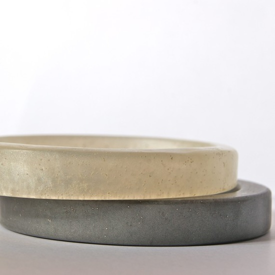 resin & cement bangles