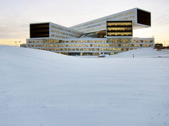 WAF 2013 Office Winner: Statoil Regional and International Offices, Norway by a-lab