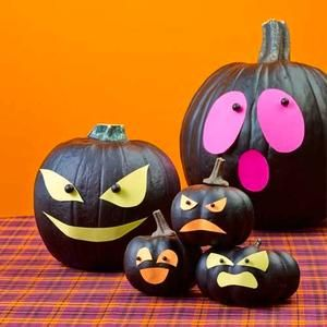 Halloween craft: Scary Faces