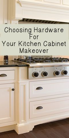 Choosing Hardware For Your Kitchen Cabinet Makeover.  Cabinet legs!