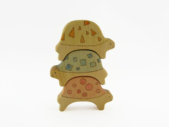 turtle puzzle - wooden toy