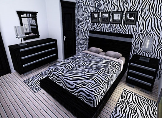 Zebra Bedroom Decoration