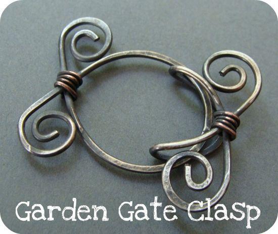 Garden Gate Clasp Tutorial artbeadscene.blog...