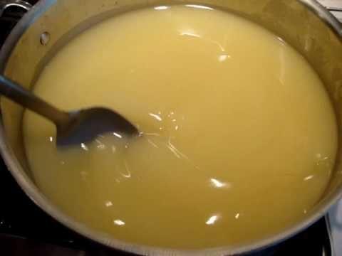 Making Handmade Liquid Soap By Scratch