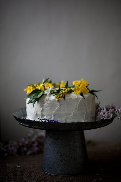 coconut tres leches cake by Beth Kirby