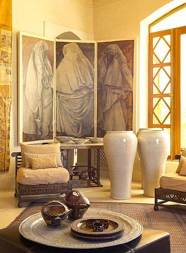 Moroccan home interior design