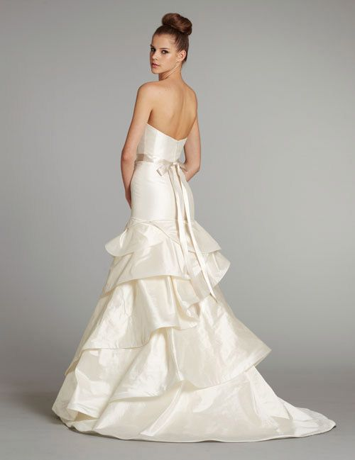 """Hayley Paige """"Pearl"""" gown at Nordstrom Wedding Suites"""