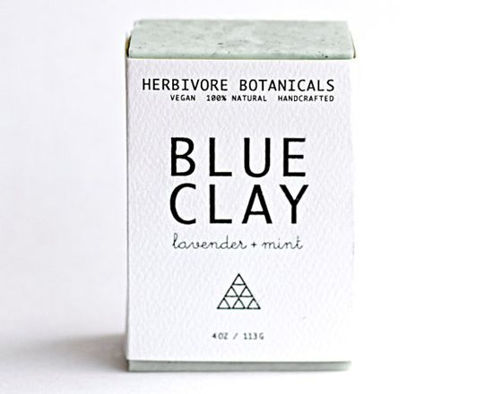 Cambrian Blue Clay Soap. Face and Body by HerbivoreBotanicals, $8.00
