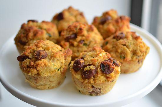Corndog Stuffing Muffins