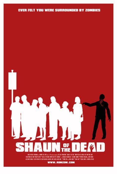 Minimalist Movie Posters: Shaun of the Dead