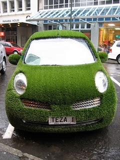 apparently cars truly are going green:)