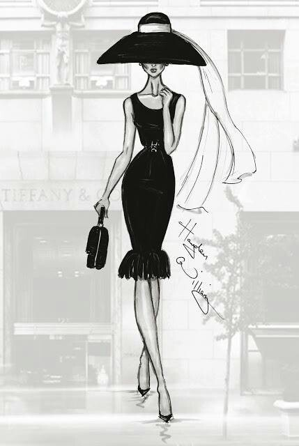 Williams fashion illustrations
