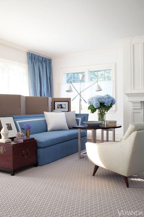 Well-Lived: Bridgehampton Home. Interior Design by Vincente