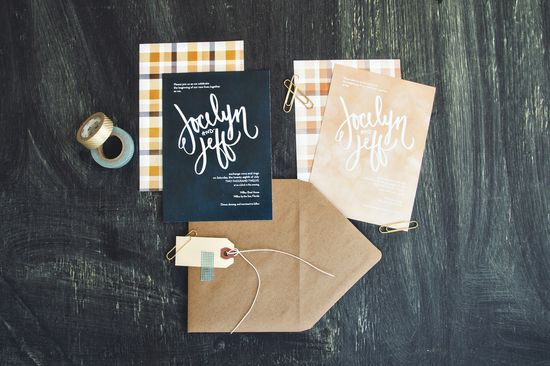 Polished Prep Plaid wedding invitations by Yours is the Earth