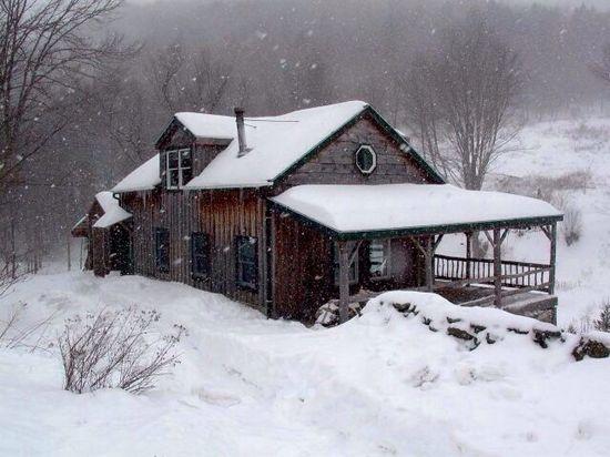Winter cotage