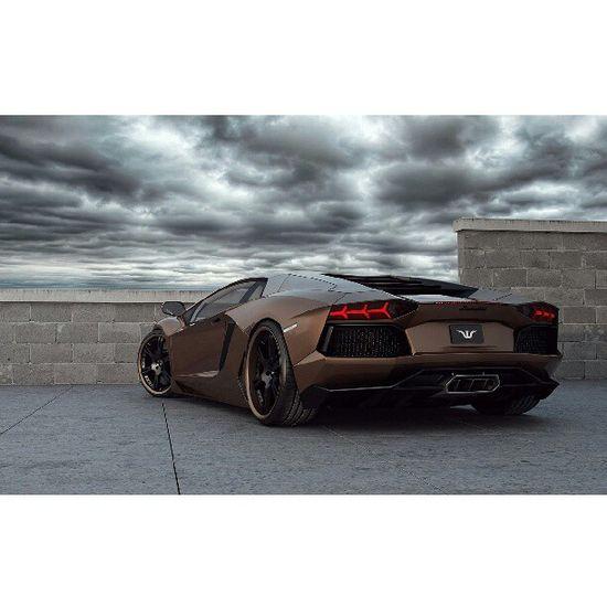 Hot Chocolate Aventador #Lamborghini