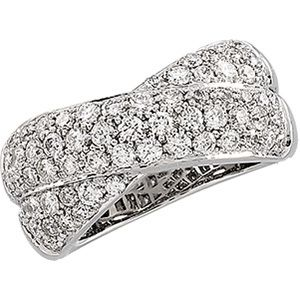 Pave Diamond Ring, Diamond Ring