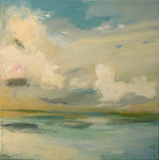 "Saatchi Online Artist: Teresa Cline; Acrylic, Painting ""Ocean Moods twenty three"""