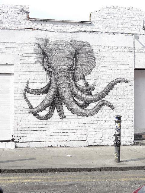? elephant /octopus