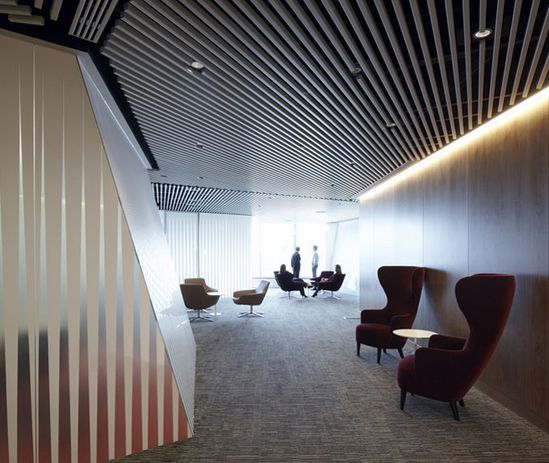Metal Ceiling - by Clive Wilkinson Architects