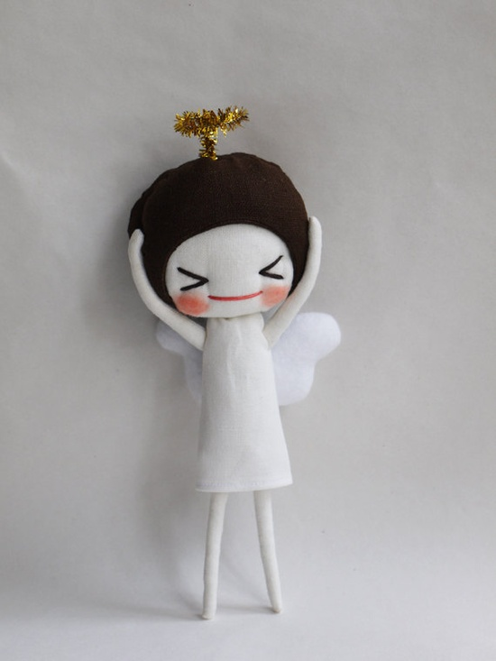 Angel by Evangelione on Etsy, $28.00