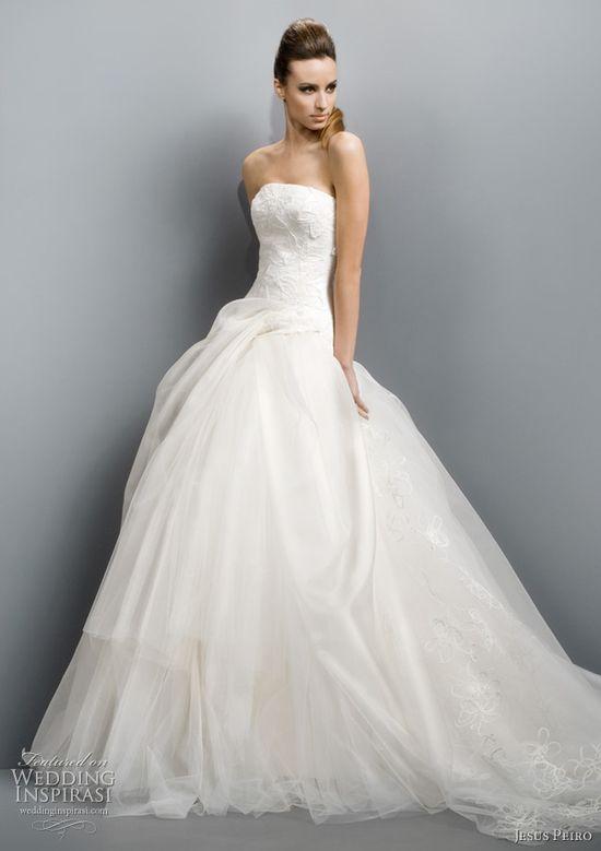 Jesus Peiro Wedding Dresses 2011 Collection