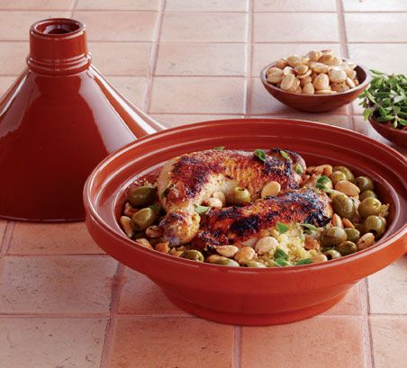 Make it Moroccan: Cooking with a Tagine - Tagine stews are traditional North African dishes that have been staples on Moroccan menus for countless generations - in recent years, they've become popular around the globe! #WorldMarket