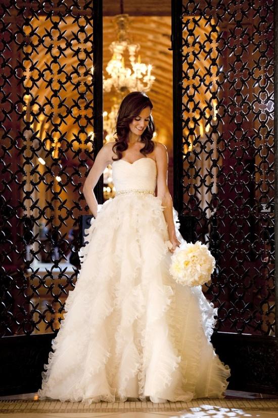 Lovely #wedding dress