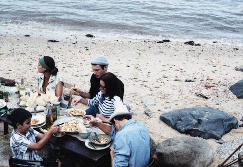 sea side picnic