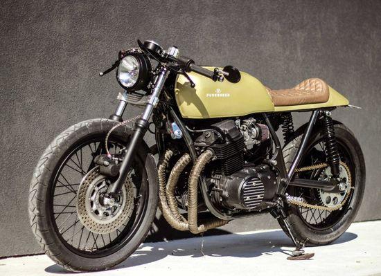 Custom Honda CB750 2 740x538 Honda CB750 Custom by Purebreed Fine Motorcycles