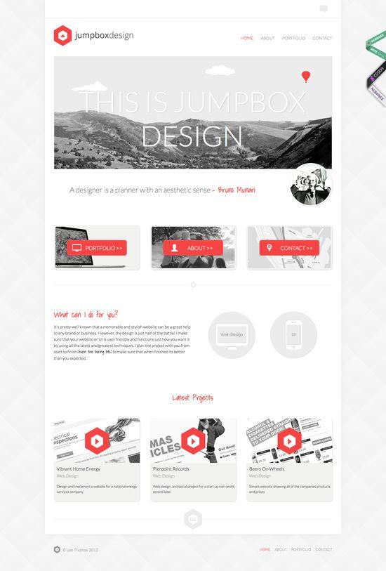 15 Stylish Examples of Portfolio Web Design