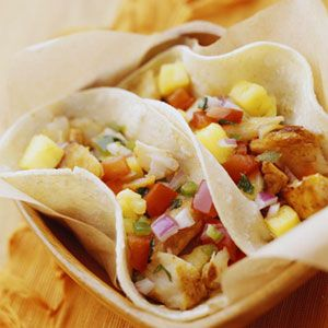 Light tacos for taco night? Try these Grilled Fish Tacos