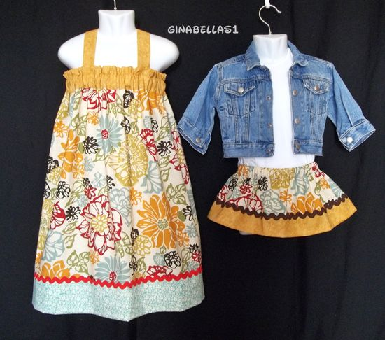 back to school dress Thanksgiving outfit fall by GinaBellas1, $19.50