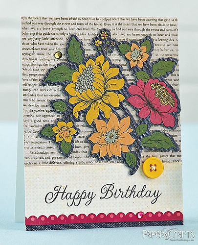 Floral Birthday Card by @Teri McPhillips Anderson