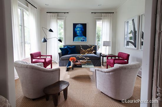 Living Room by Sally Wheat via La Dolce Vita Blog