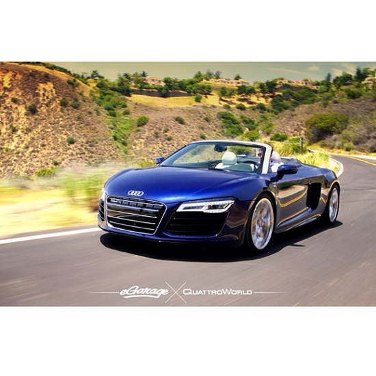 What convertible would you guys own? #Audi #R8