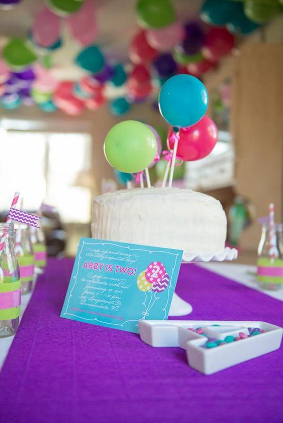 Balloon Pop Themed Party via Kara's Party Ideas karaspartyideas.com #balloon #pop #party #ideas