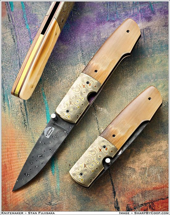 Photos SharpByCoop • Gallery of Handmade Knives
