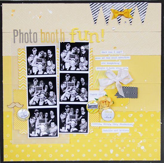Photo Booth Fun - Scrapbook.com