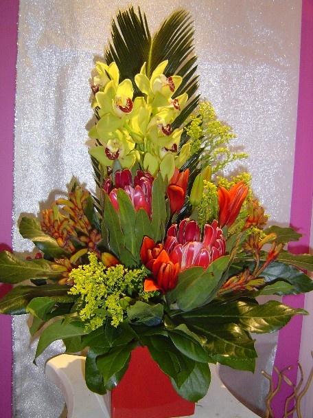 A flower arrangement called Gazebo