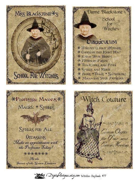 Vintage downloadable Printables