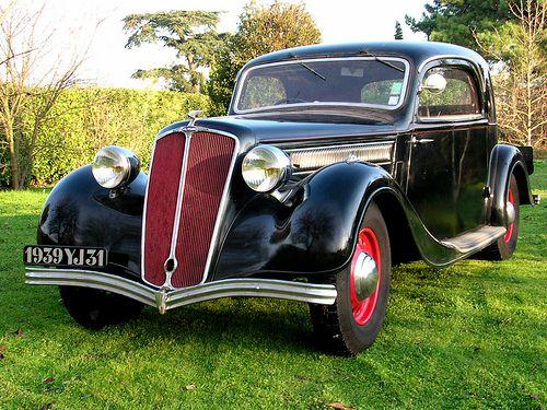 Salmson S4 Coupe • 1936